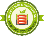 Ospitato da Hosting Sostenibile